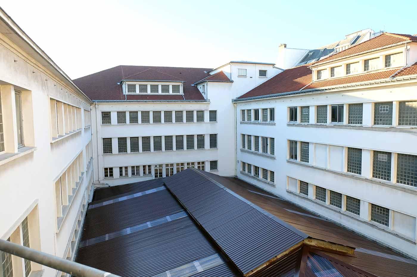 Etages bâtiment CCI Paris
